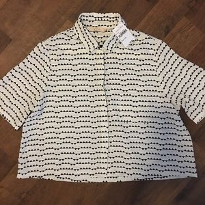 Nordstrom button down top